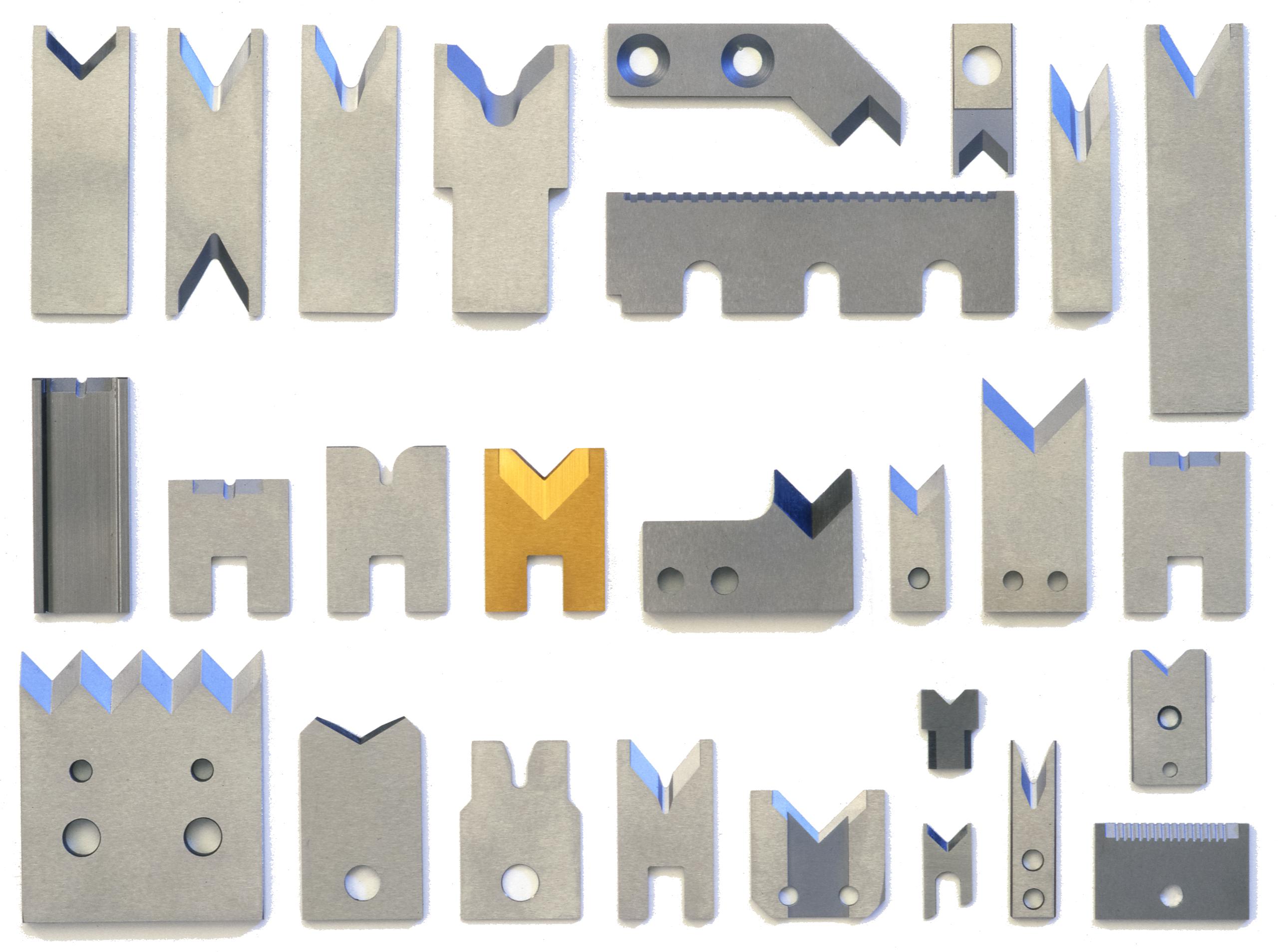 Various Mechtrix Blades